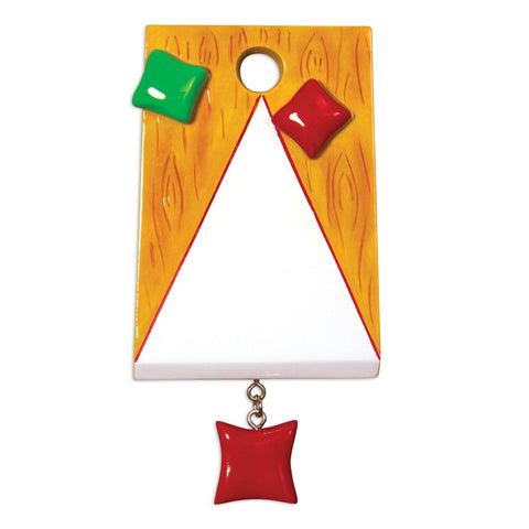 Corn Hole/Bags- Personalized Christmas Ornament