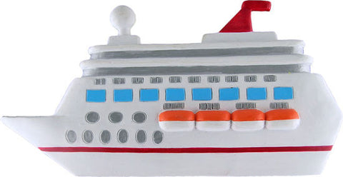 Cruise Ship- Personalized Christmas Ornament