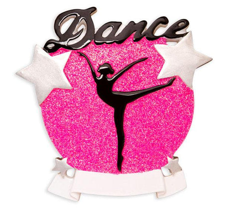 Dance- Personalized Christmas Ornament