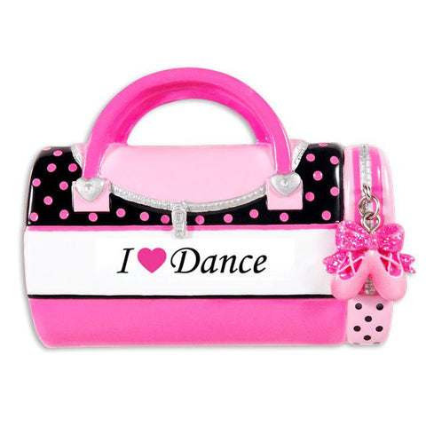 Dance, I love Dance- Personalized Christmas Ornament