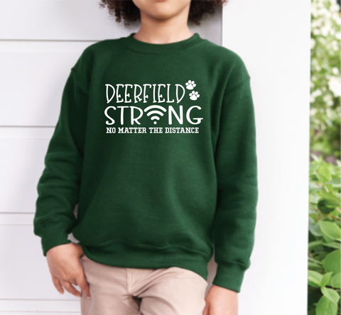 Deerfield Strong Crew Neck Sweatshirt