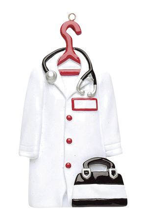 Doctor Coat- Personalized Ornament