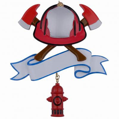 Firefighter - Personalized Ornament