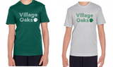 Village Oaks, Option 1 Moisture-Wicking, short-sleeved shirt, Youth