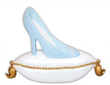 Glass Slipper Personalized Christmas Ornament