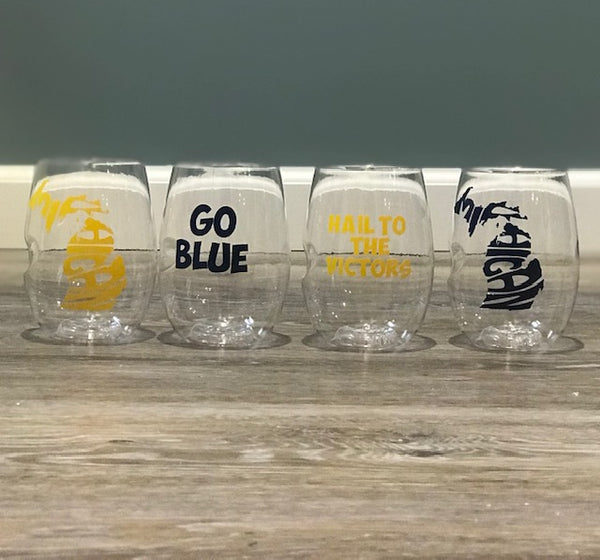 Maize & Blue Govinos (set of 4)