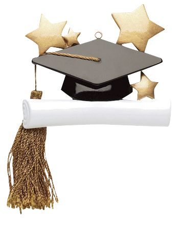 Graduation Cap- Personalized Ornament