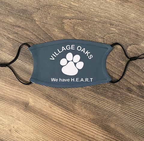 Village Oaks H.E.A.R.T Face Mask