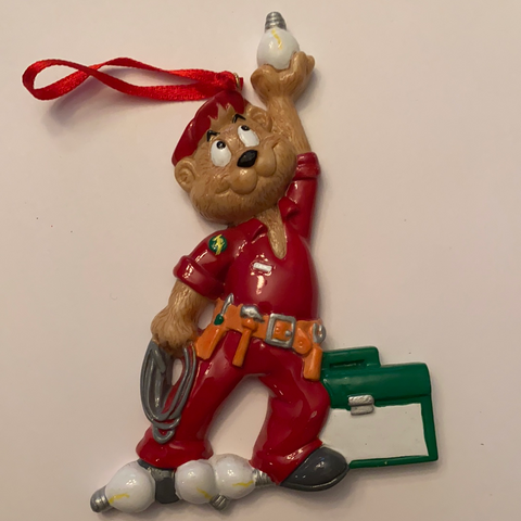 Electrician-Personalized Christmas Ornament
