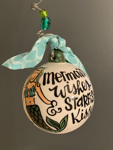 Mermaid Bulb-Personalized Ornament