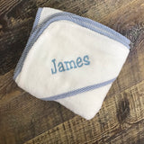 Soft Hooded Personalized Baby Towel