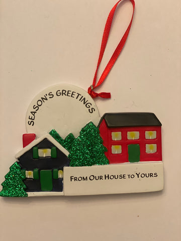 Neighbors- Personalized Ornament