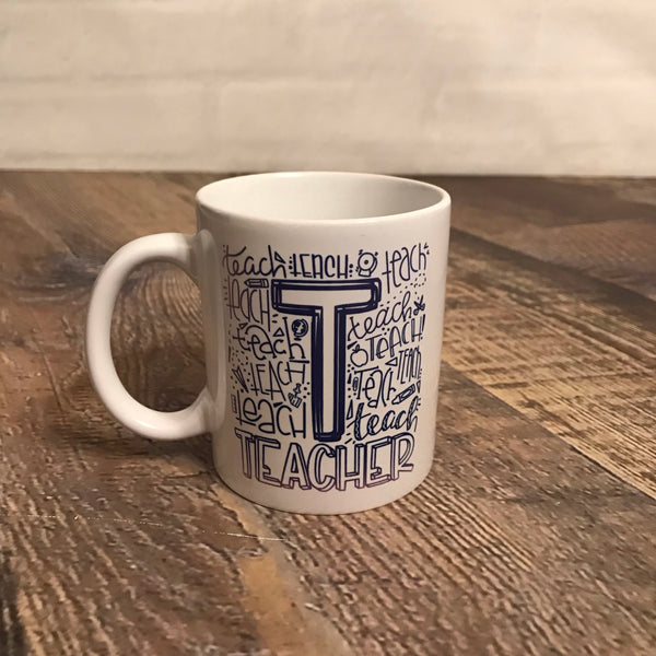 Teacher Graphic Coffee Mug