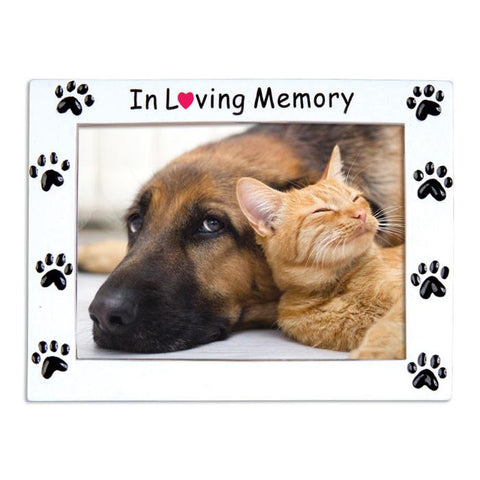 In loving memory pet frame- personalized ornament