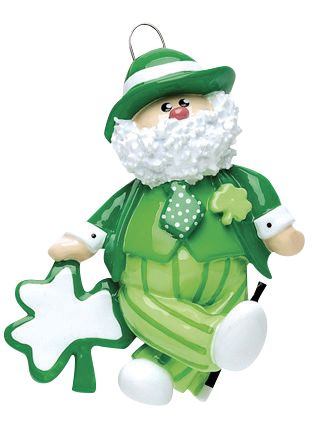 Irish Santa Personalized Ornament