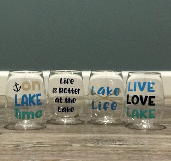 Lake Life shatterproof Govino Wine Glasses (set of 4)