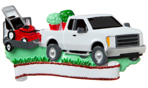 Landscaper/Lawn Service- Personalized Ornament