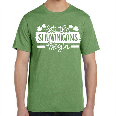 Let the Shenanigans Begin Shirt