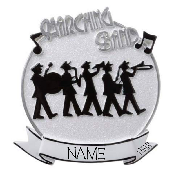Marching Band- Personalized Christmas Ornament