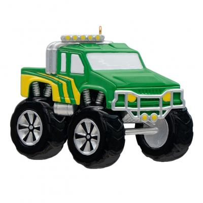 Monster Truck- Personalized Ornament