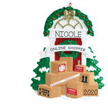 Online Shopper- Personalized Ornament