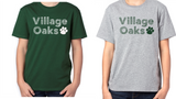 Village Oaks, Option 1 Poly/Cotton T-shirt, Youth
