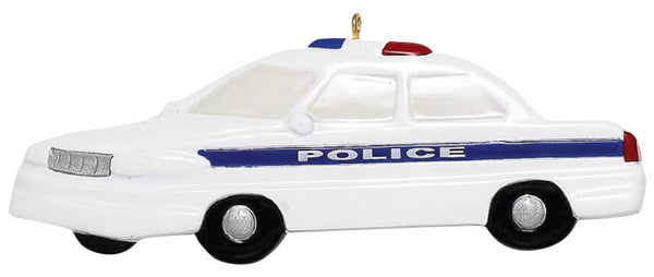 Police Car- Personalized Ornament
