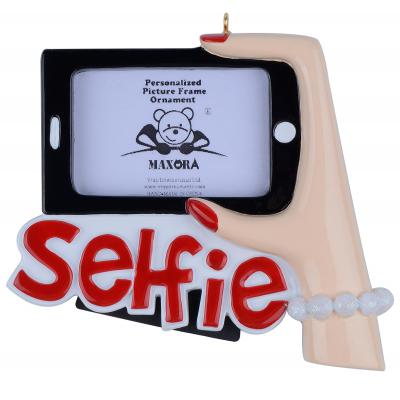Selfie-Personalized Christmas Ornament