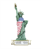 Statue of Liberty- Personalized Christmas Ornament