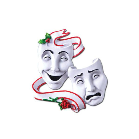 Theatre, Acting- Personalized Christmas Ornament
