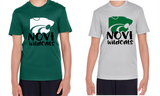 Novi Wildcats, Option 6, Moisture-Wicking, short-sleeved shirt, Youth