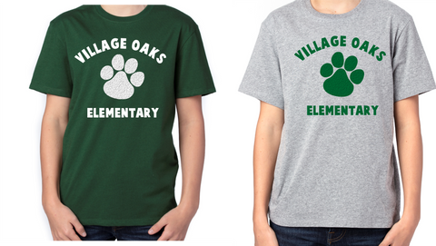 Village Oaks Poly/Cotton T-shirt