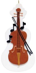 Violin- Personalized Christmas Ornament