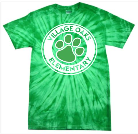 Village Oaks Tie Dye Shirt