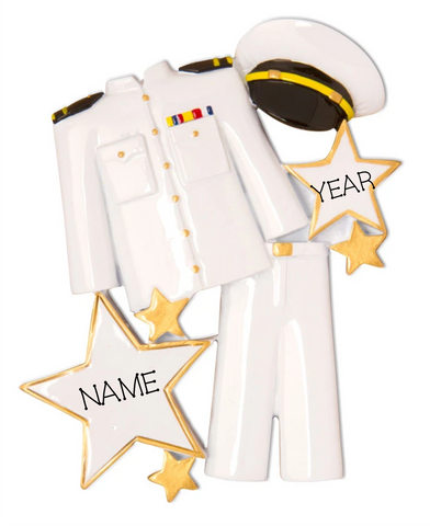 ARMED SERVICES- ARMED SERVICE UNIFORM- WHITE