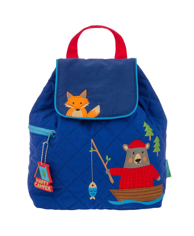 Quilted Backpacks for toddler boys