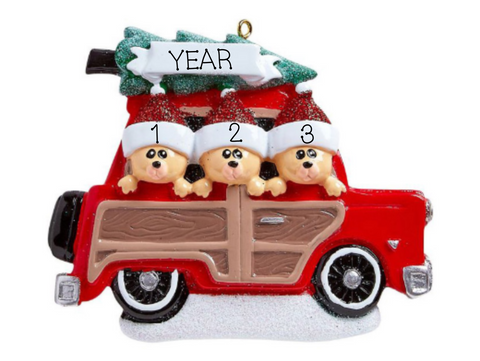 Woody Wagon, Family of 3
