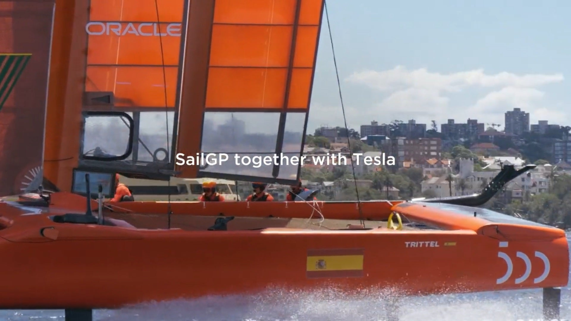 Tesla Team-Up With Global Catamaran Racing Championship By Using Powerwall & Solar