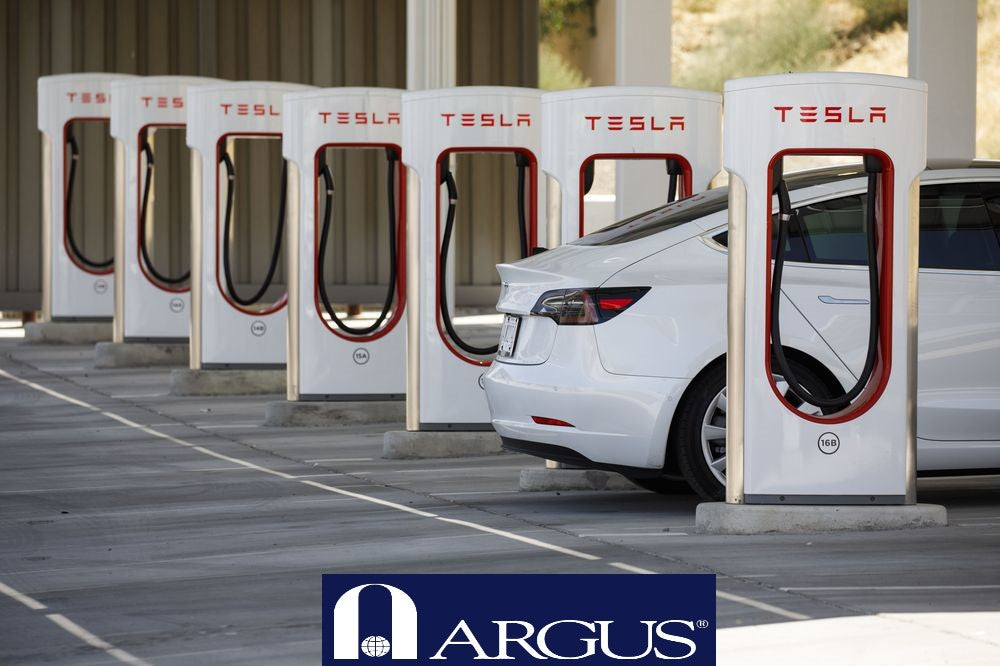Argus Research raises Tesla's target price to $556
