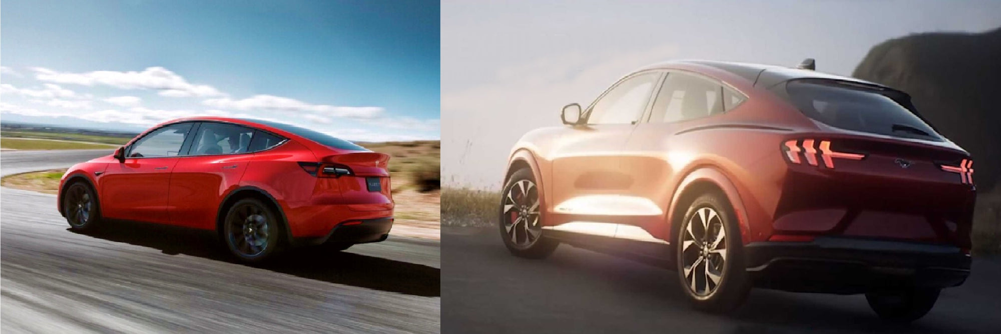 Tesla Model Y  VS Ford Mustang Mach-E