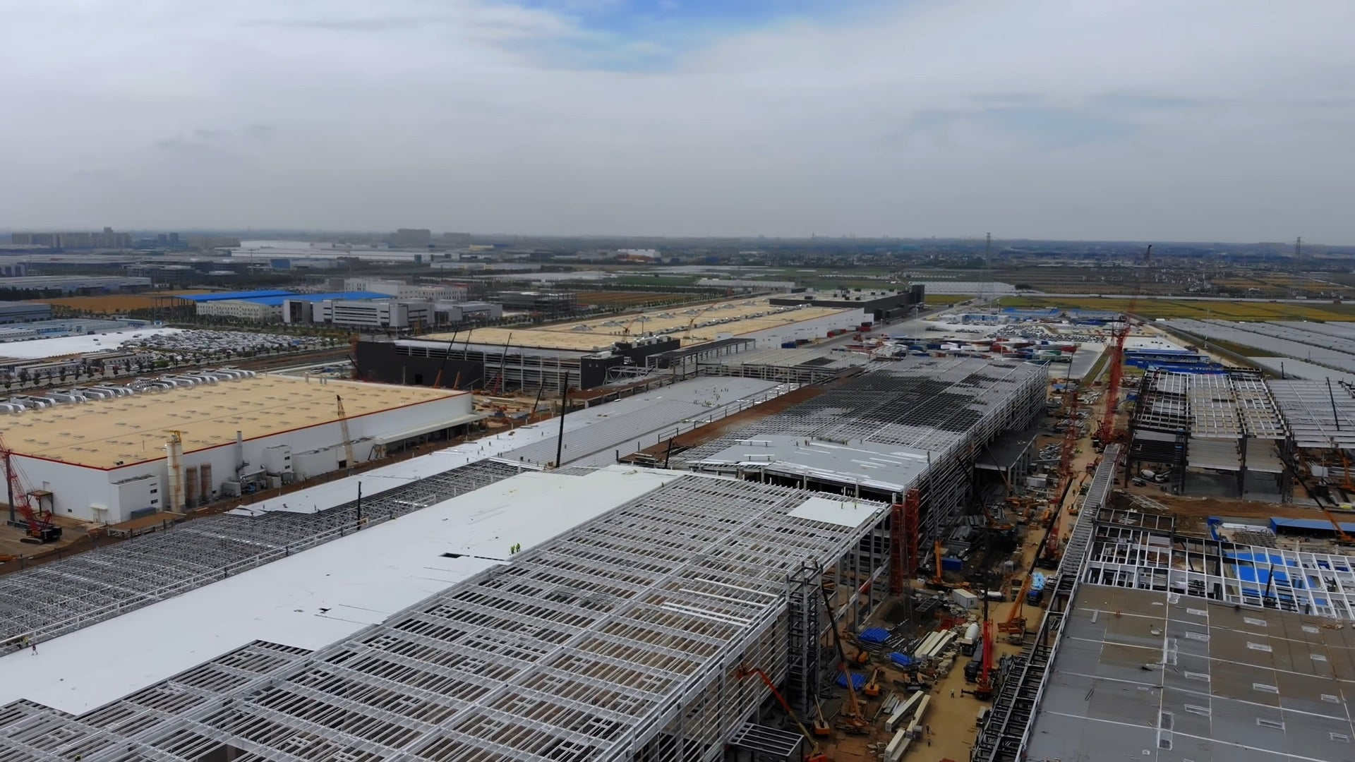 Tesla Giga Shanghai About To Finish Phase 2 Construction, Chinese-Made Model Y Production Could Happen Soon