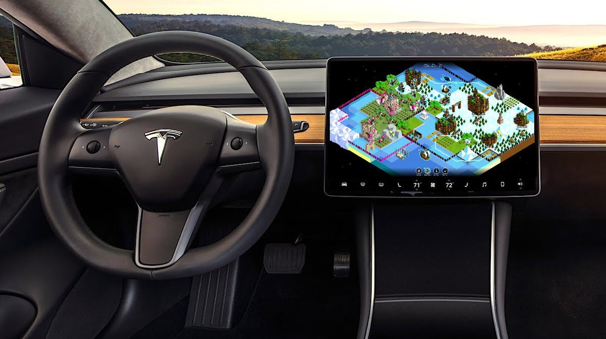 Tesla to Bring Polytopia & Other Cool Games with Holiday OTA Update