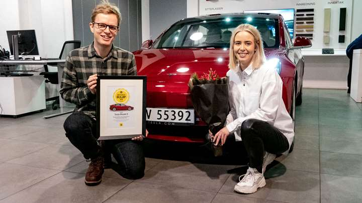 "Motor magazine in Norway recognizes Tesla Model 3 as ""Best Car Purchase of the Year"""