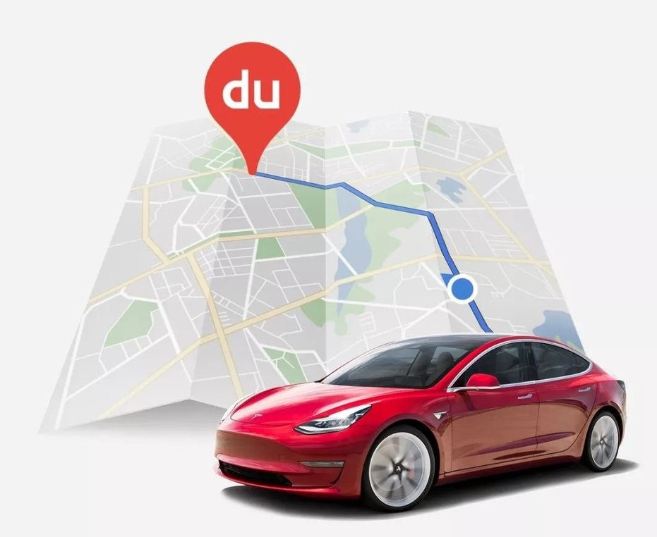 Tesla China will soon upgrades to use Baidu Maps