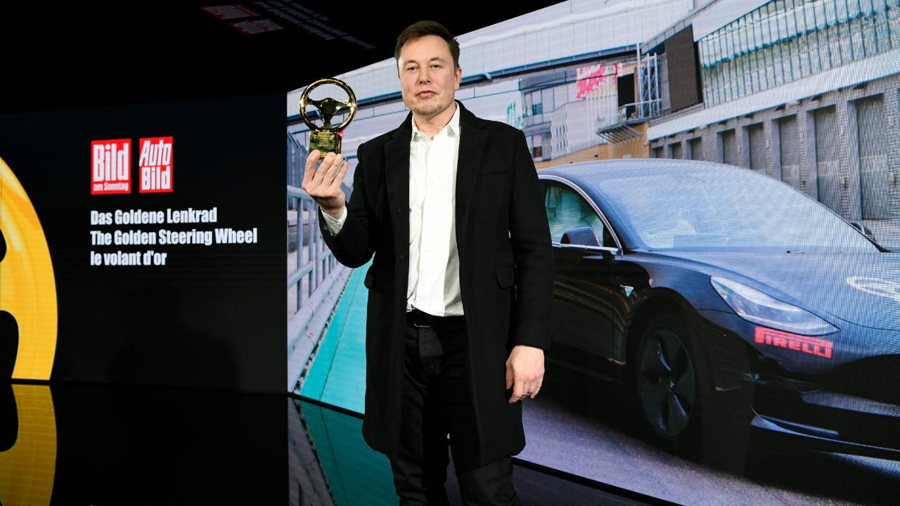 Tesla receives Golden Steering Wheel Award and announces location of Gigafactory 4
