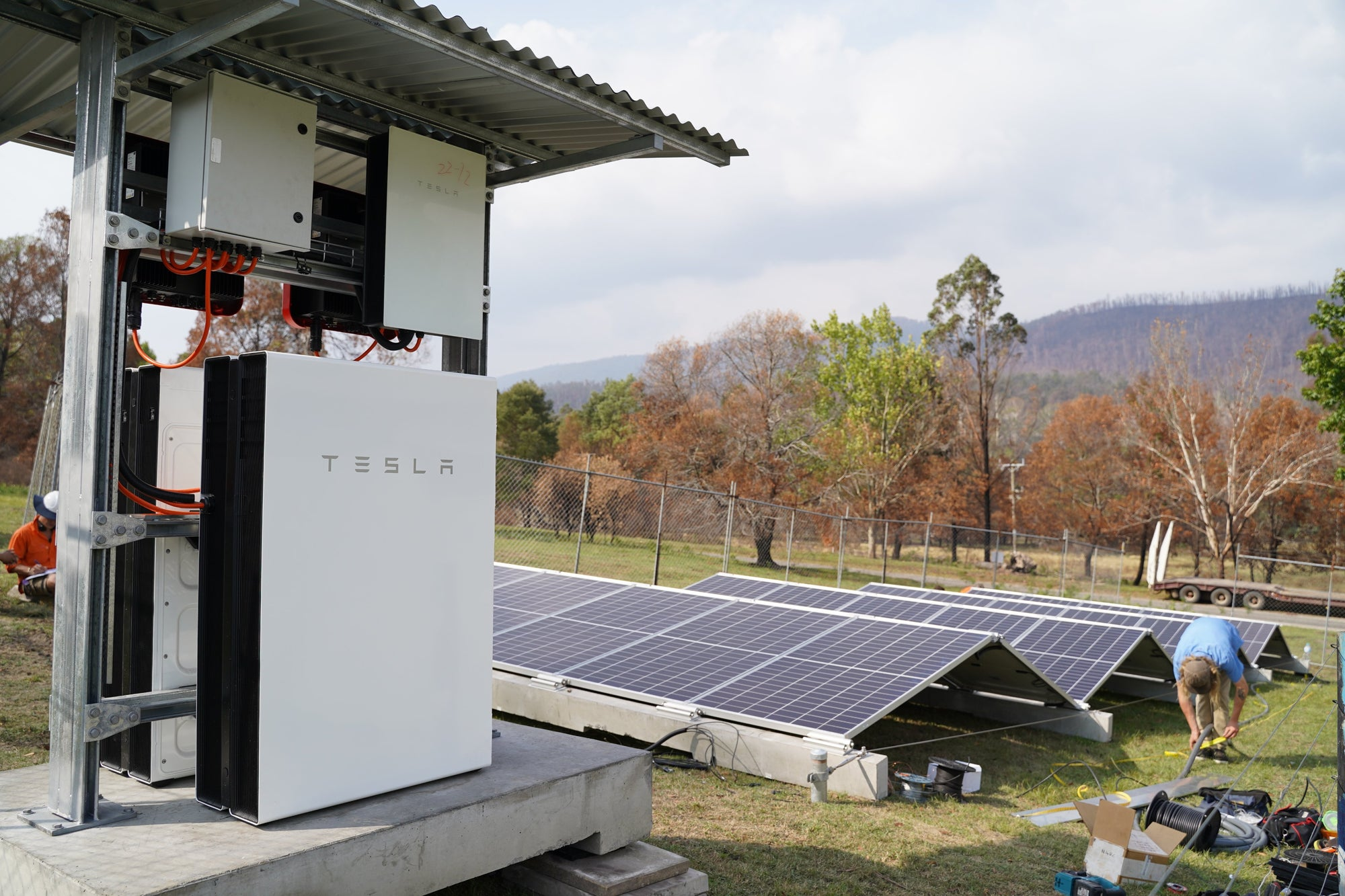 Tesla Powerwalls Being The Important Roles For Australian Natural Disaster Rebuild