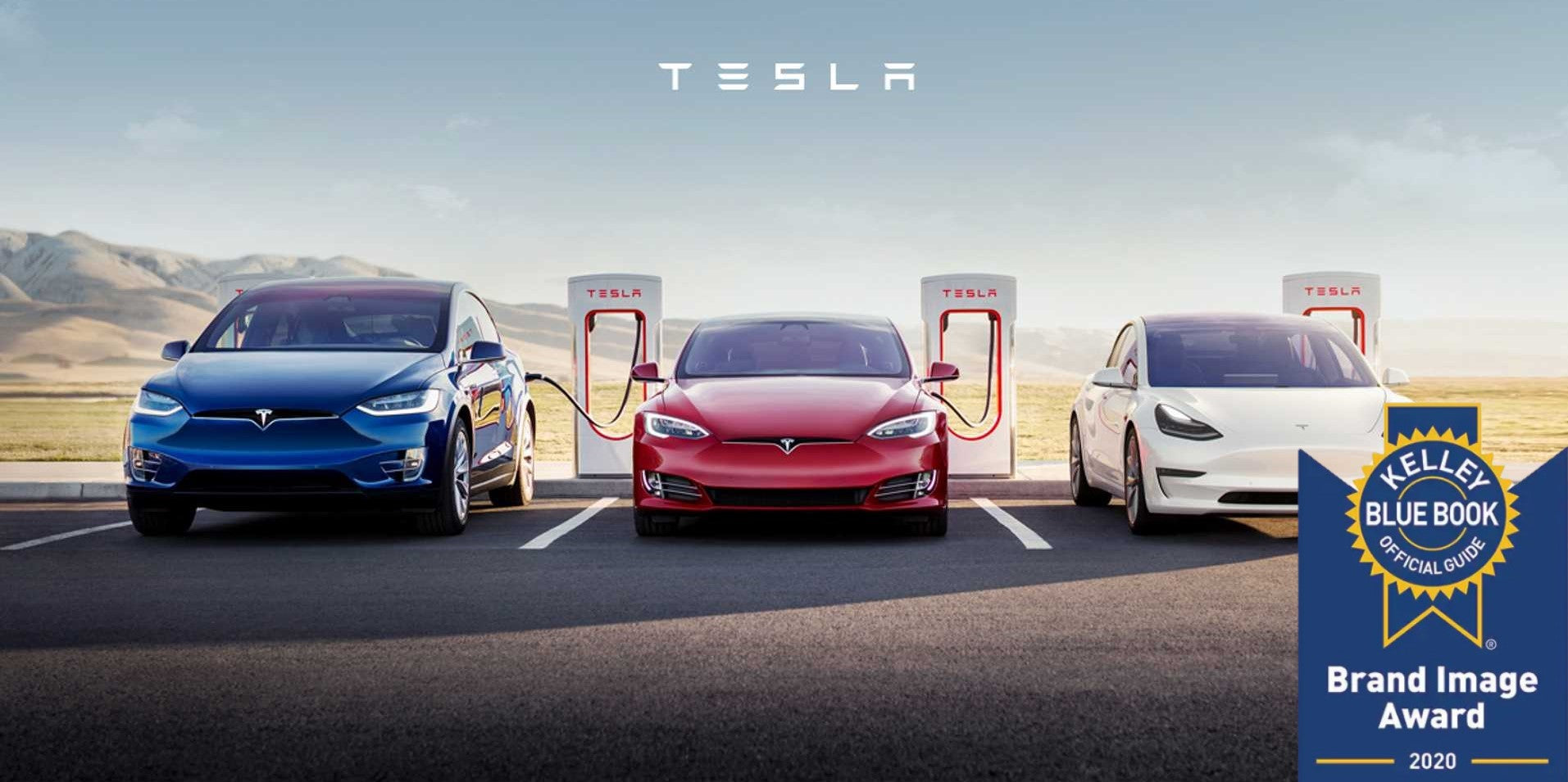 Tesla Dominates Kelley Blue Book Luxury Brand 2020 Awards