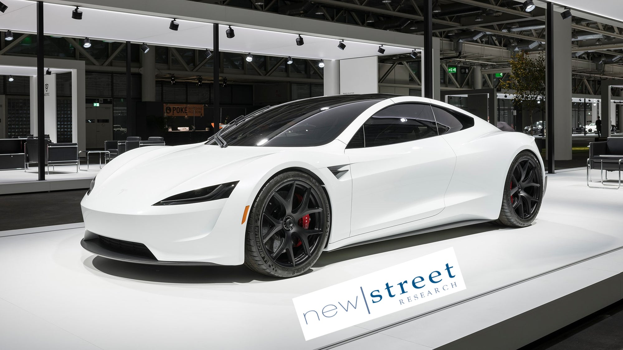 New Street Research Raised Tesla ( TSLA ) Price Target From $530 to $800