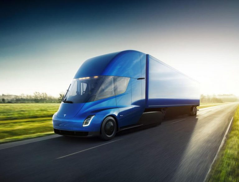 Tesla plans to launch Semi production in 2020
