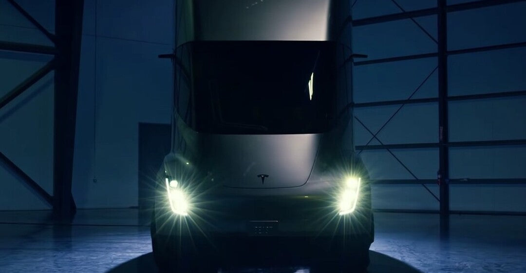 Tesla Semi Truck, Disruption for Truck Makers and Railroad Industry